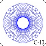 Сетка для печати С-10