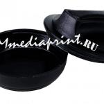 Простая карманная пластиковая оснастка для печатей «ТАБЛЕТКА» НЭО без штемпельной подушки диаметр 40-42 мм.